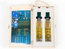 牡丹籽油木制礼盒装
